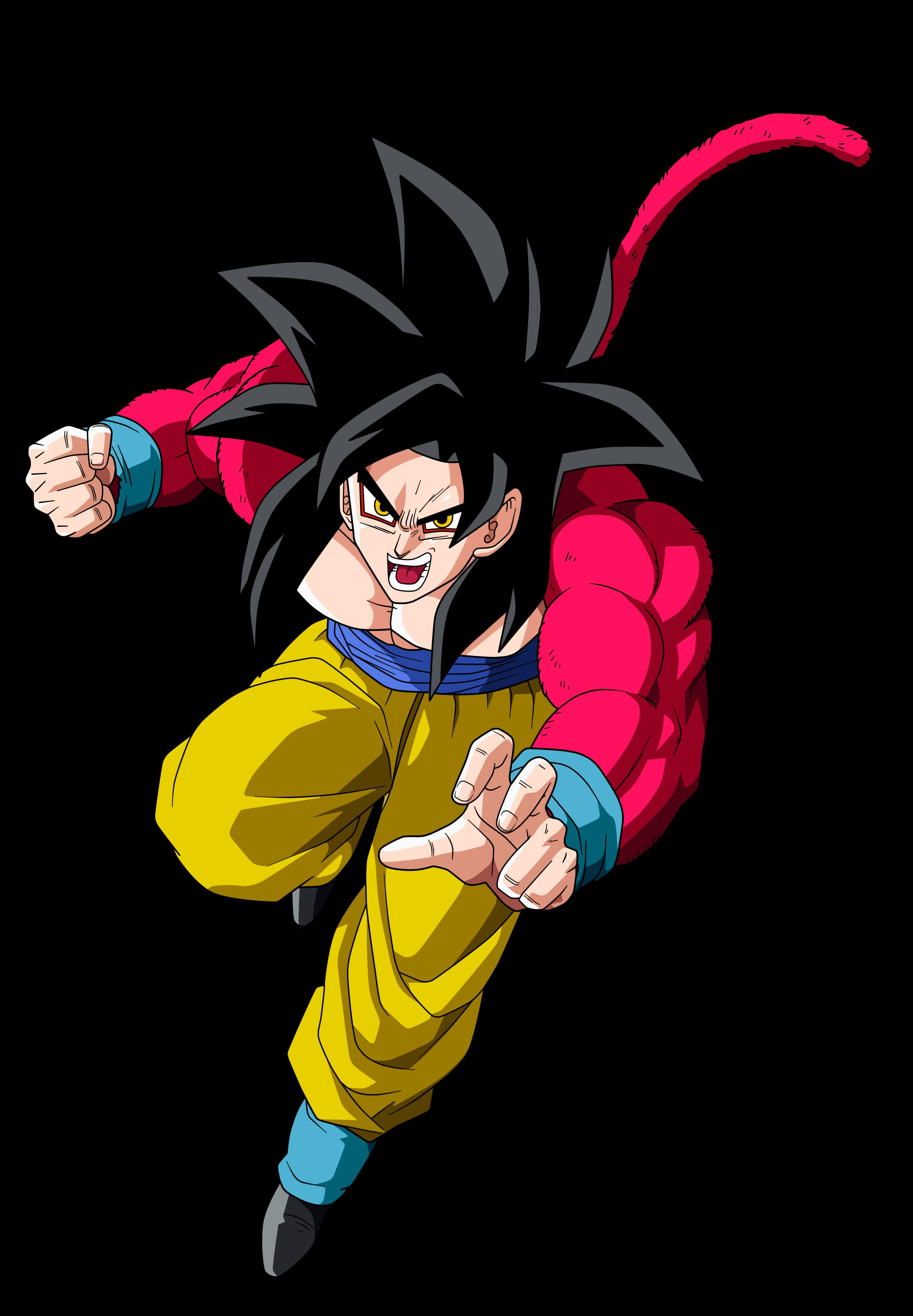 Goku SSJ4 by RenderDragonball on DeviantArt