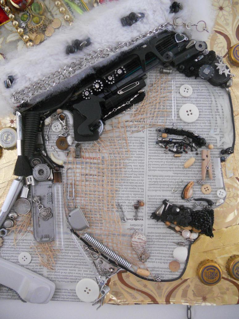 Freddie Mercury - Detail by NadienSka