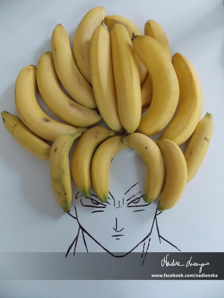 How i see Goku by NadienSka