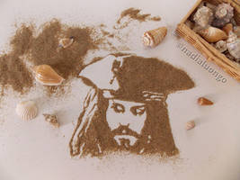 Captain Jack Sparrow by NadienSka