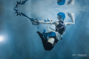 Underwater Cosplay - Aqua Kingdom Hearts by silhouettedamour