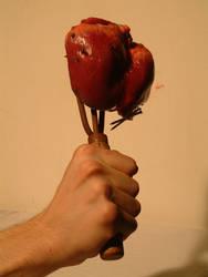heart on a stick