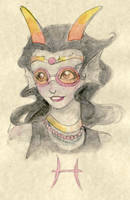 Royalty in watercolors by bucketmouse