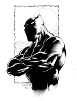 BLACK PANTHER by jerkmonger