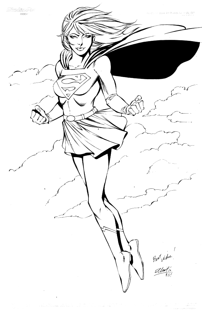SUPERGIRL by jerkmonger