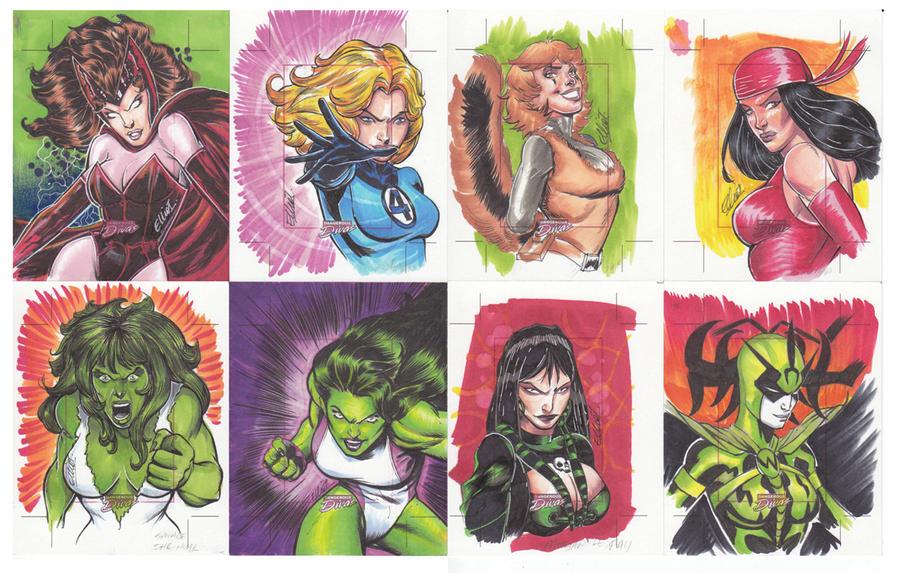 DANGEROUS DIVAS 09 by jerkmonger