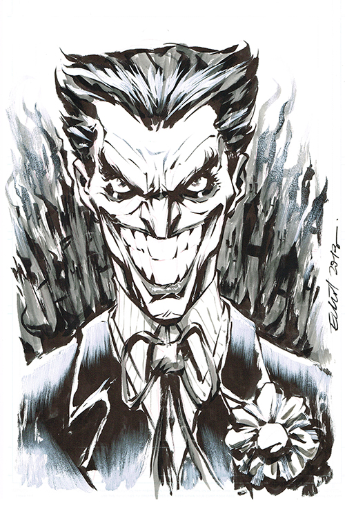 JOKER on FIRE by jerkmonger