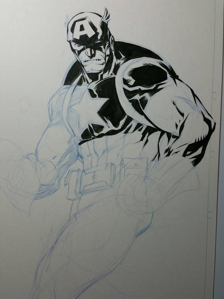 Cap sketch  by jerkmonger