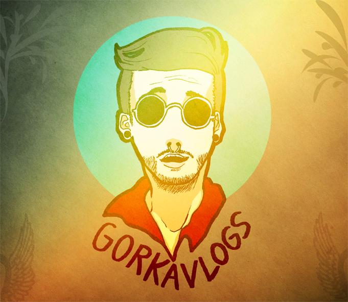 Youtuber Portrait - GorkaVlogs by SubaruMangaka