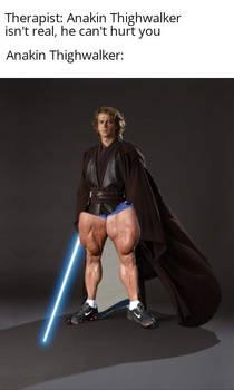 The horror of Anakin Thywalker