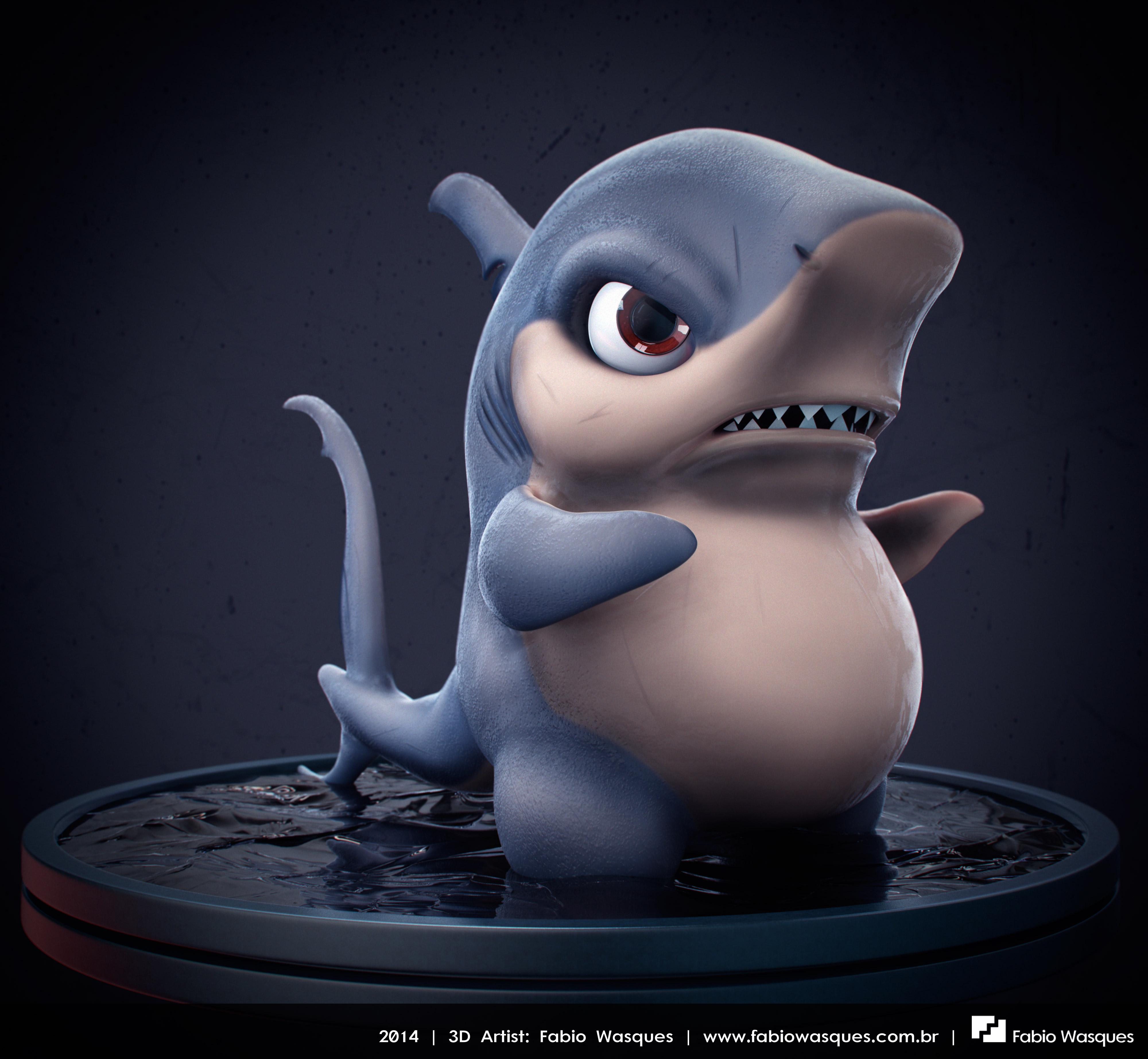 Sharky by fabiowasques
