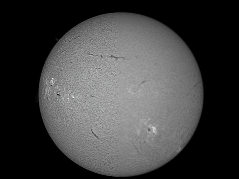 The Sun, Before and After by phrostie