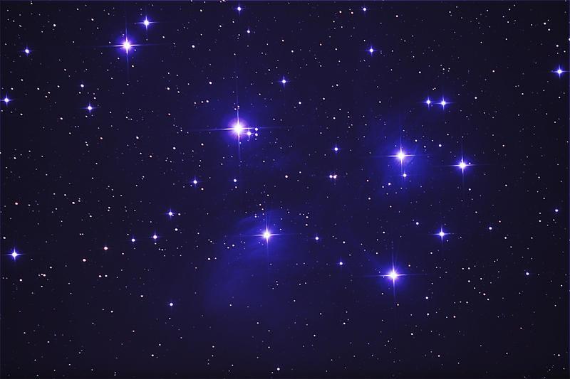 Pleiades by phrostie