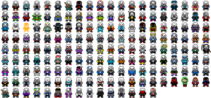 173 Alternative Sans and 2 others...