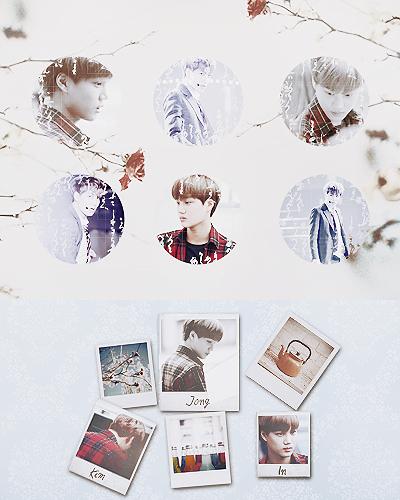 EXO Graphics. Jongin 2 by kamjong-kai