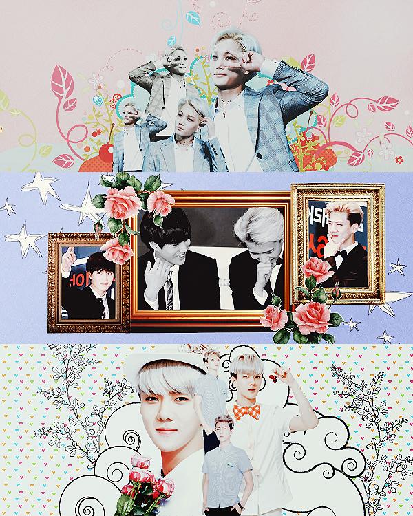 EXO Graphics. SeKai by kamjong-kai