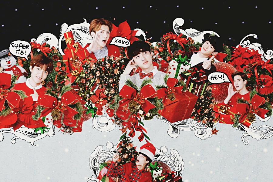 Christmas With Exo By Kamjong Kai On Deviantart