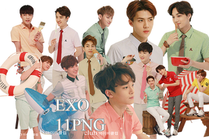 EXO PNG Pack {IVY CLUB 2015 Part.7}