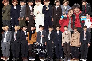 EXO PNG Pack {IVY Club 2015 Part.10} by kamjong-kai