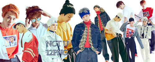 NCT U PNG Pack 2 by kamjong-kai