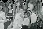 Hyuna PNG Pack {NYLON}