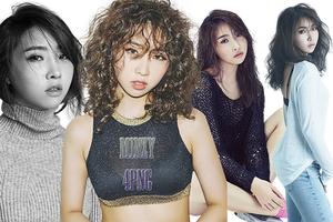 Minzy PNG Pack {The Music Works} by kamjong-kai