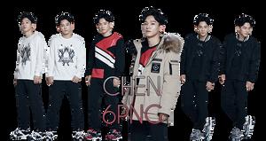 EXO Chen PNG Pack {SKECHERS} by kamjong-kai