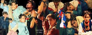 EXO Kai PNG Pack {DAZED}