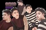 EXO DO PNG Pack {Season Greetings 2017}
