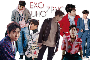 EXO Suho PNG Pack {Allure} by kamjong-kai