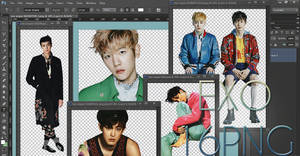 EXO PNG Pack {VOGUE}