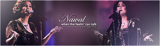 Nawal sign by alwafy