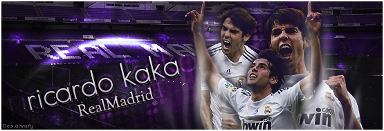 kaka sign by alwafy