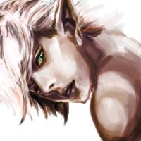 [practice] lineage 2 dark elf male by otakumei