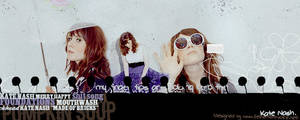 Kate Nash Header by Chapelierefolle