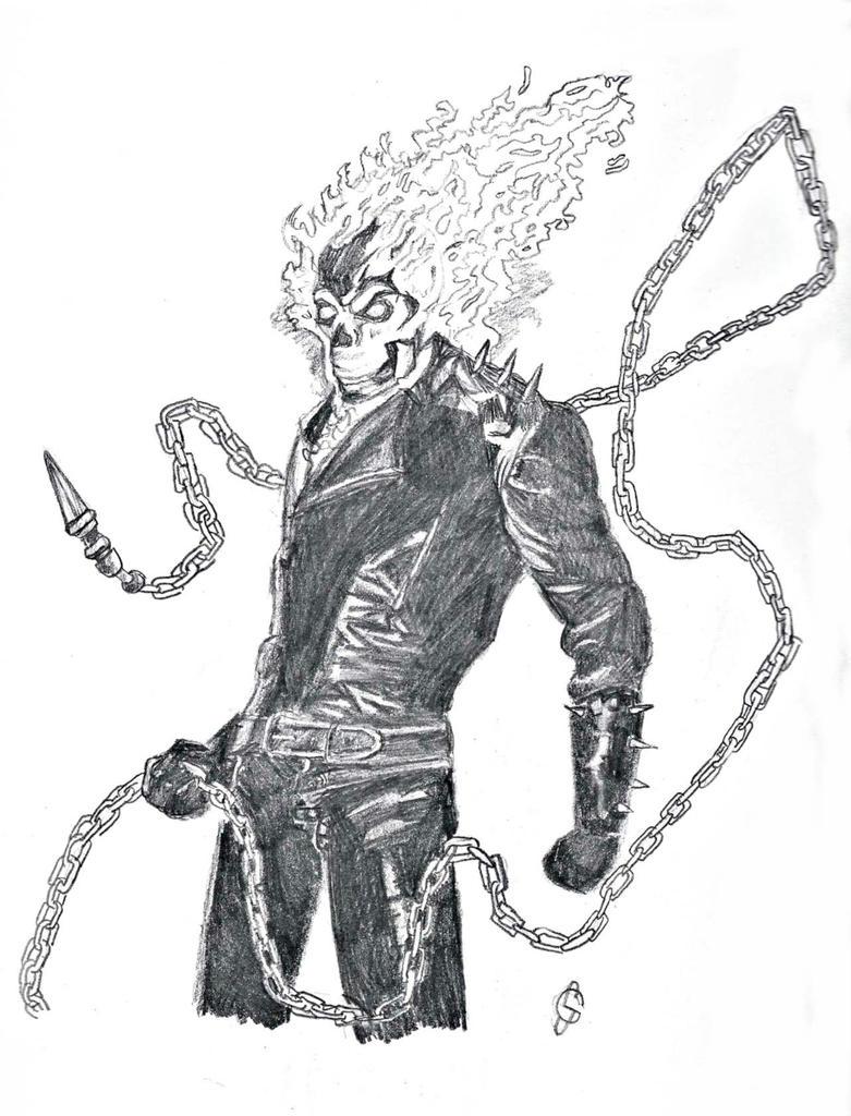 Ghost Rider By Dark Knight4 On Deviantart