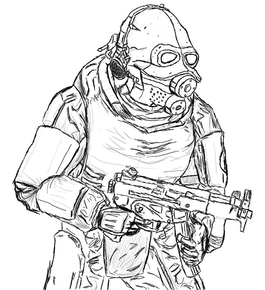 Call Of Duty Black Ops 2 Coloring Pages Coloring Pages
