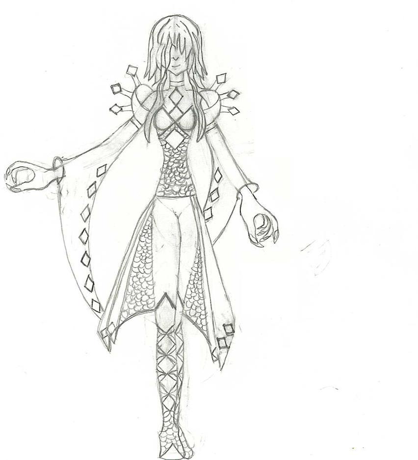 Diamond Knight by HellDeamon69