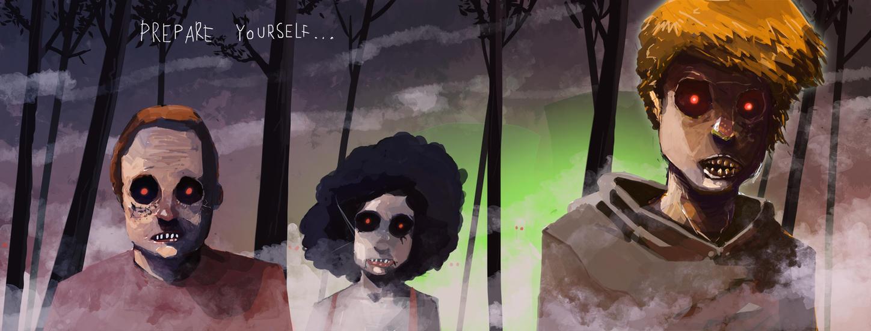 Massive Zombie Attack by nemofish1001