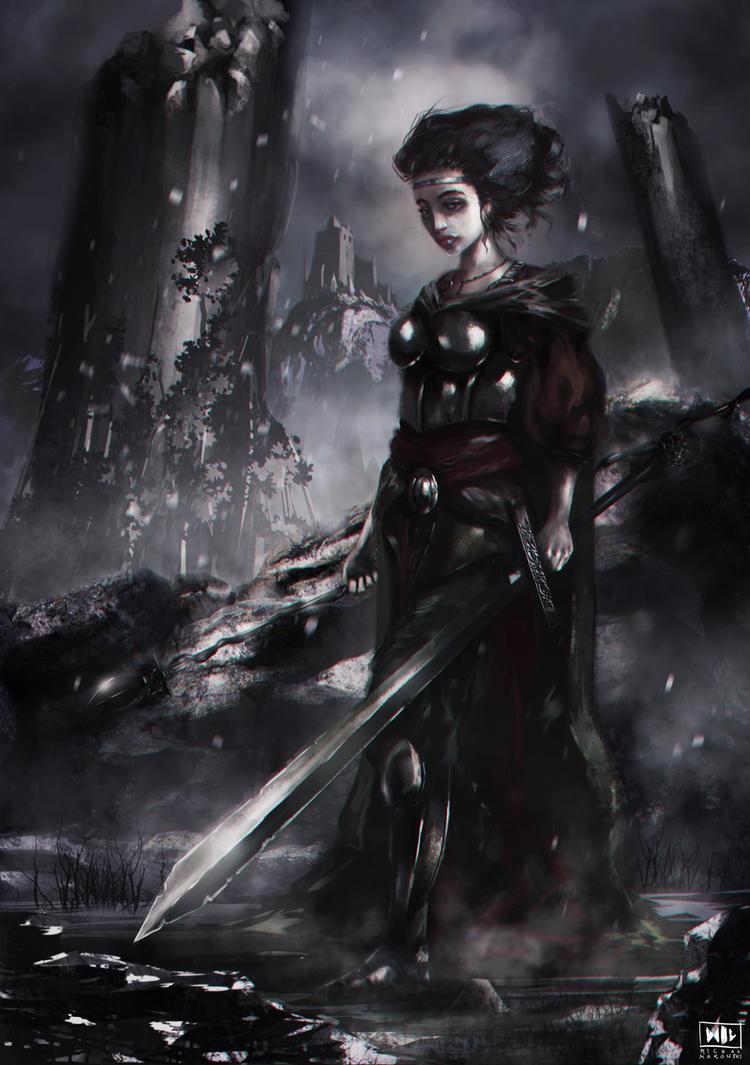 Warrior by nemofish1001