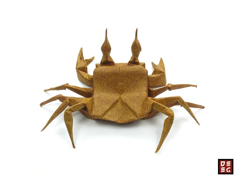 Origami Ghost Crab