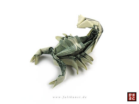 Dollar Bill Scorpion