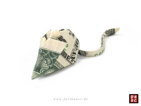 Dollar Bill Mouse