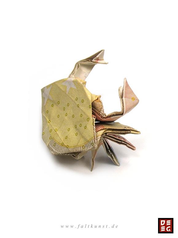 Euro Crab by Origamikuenstler