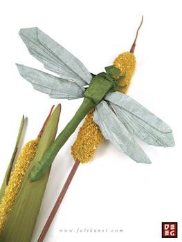 Origami Dragonfly