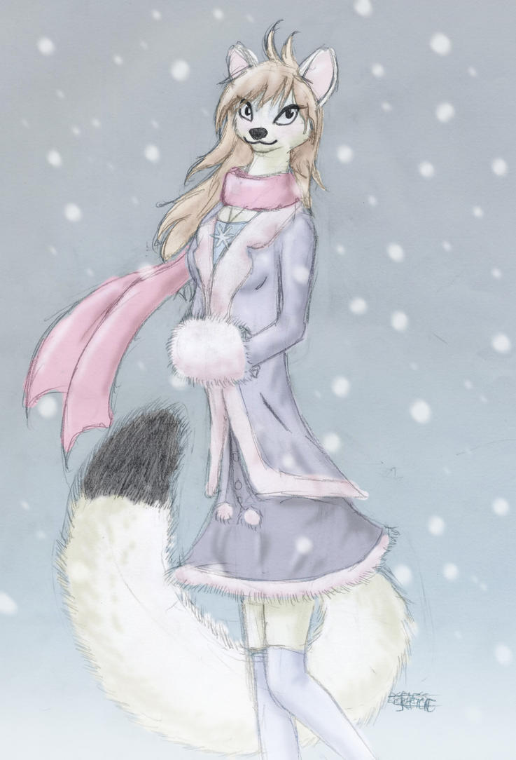 Illiana's Winter Coat by bkatt500