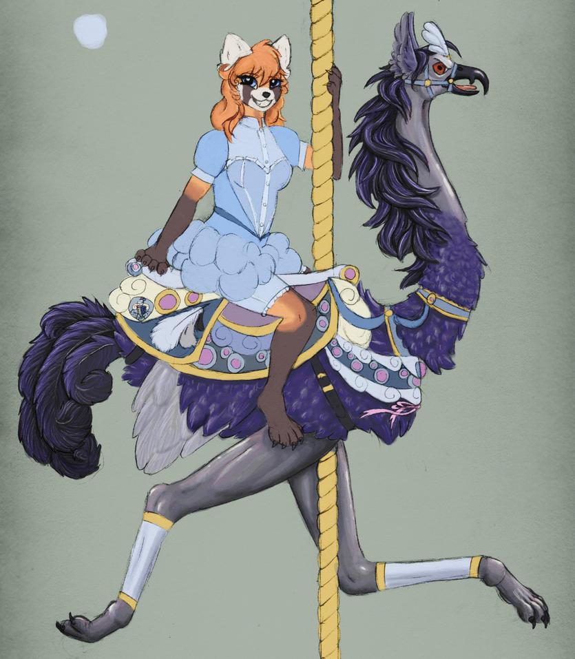 Carousel WIP by bkatt500