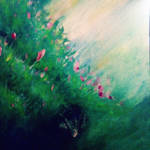 Speed  painting: Rustic Garden
