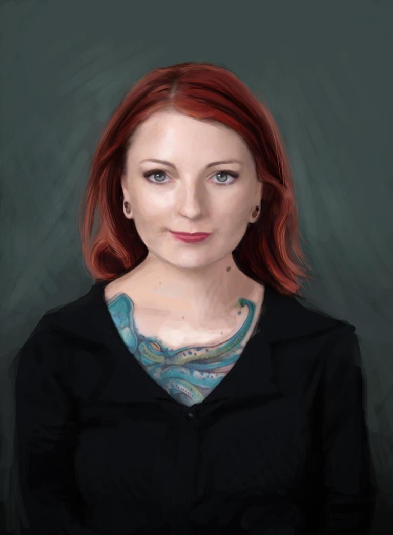 Zoe Portrait by ninykinin