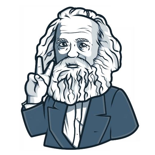 Karl Marx by DanielGreyS
